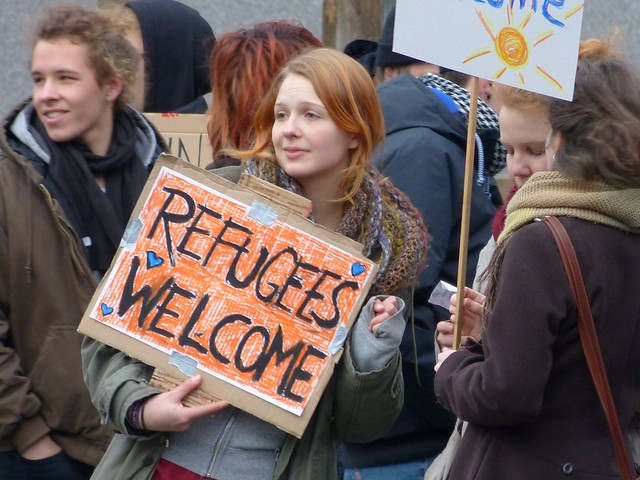 welcome refugee